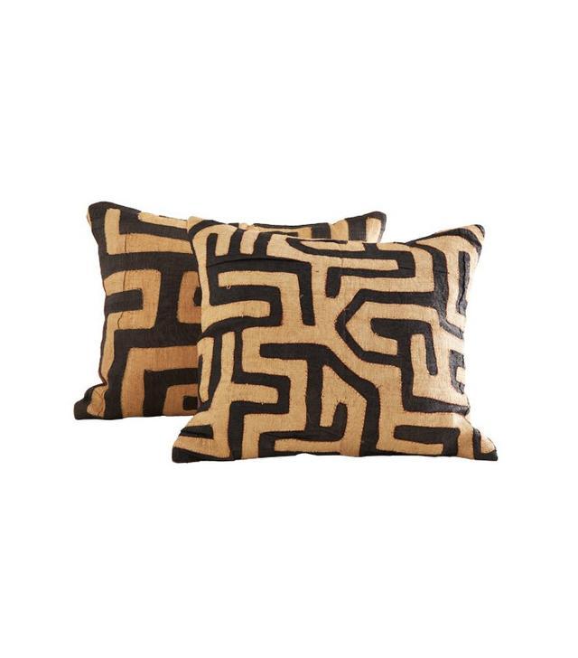 Wisteria Kuba Cloth Pillow