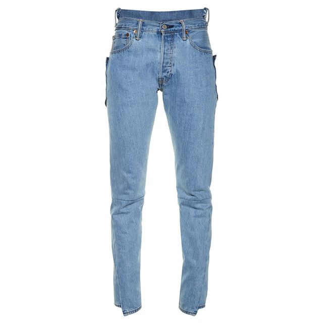 Vetements Re-worked High-rise Skinny Jeans
