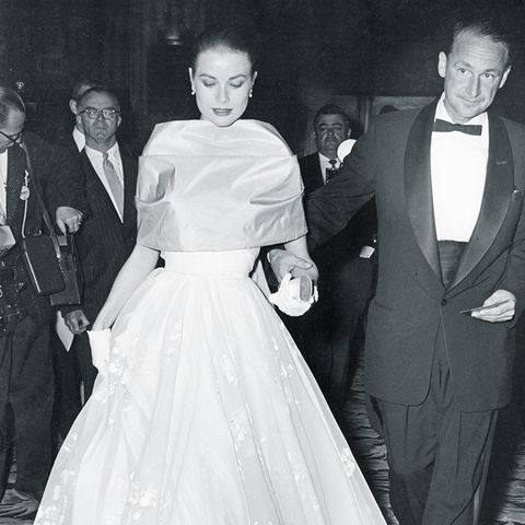Best Oscars Dresses: Grace Kelly in Helen Rose, 1956