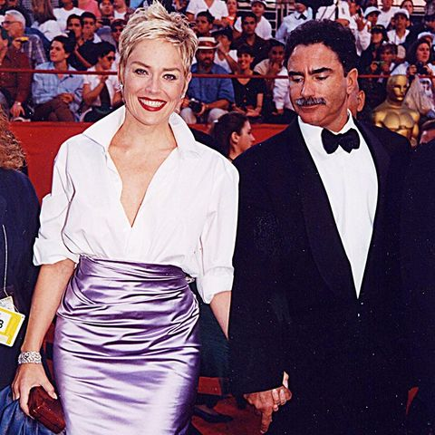 Best Oscars Dresses: Sharon Stone in Vera Wang, 1998