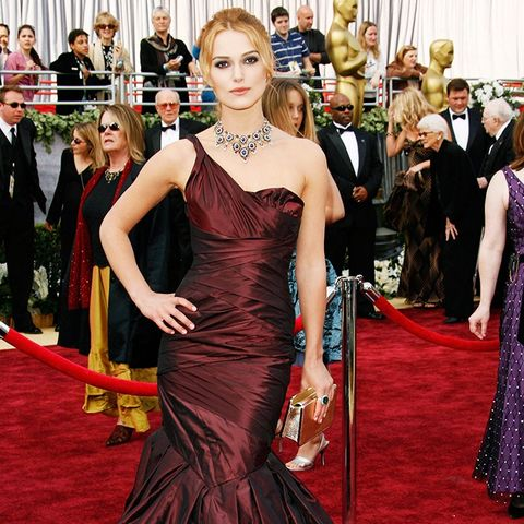 Best Oscars Dresses: Keira Knightley in Vera Wang, 2006