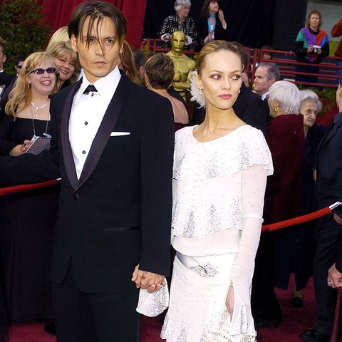 Best Oscars Dresses: Vanessa Paradis in vintage Chanel couture, 2004
