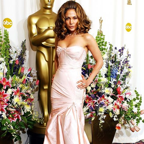 Best Oscars Dresses: Jennifer Lopez in Versace, 2002