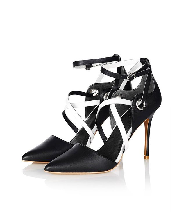 Topshop Grand Cross-Strap Courts