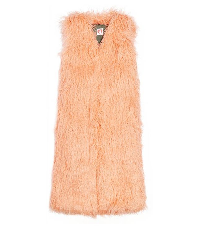 Shrimps Dary Faux Shearling Gilet