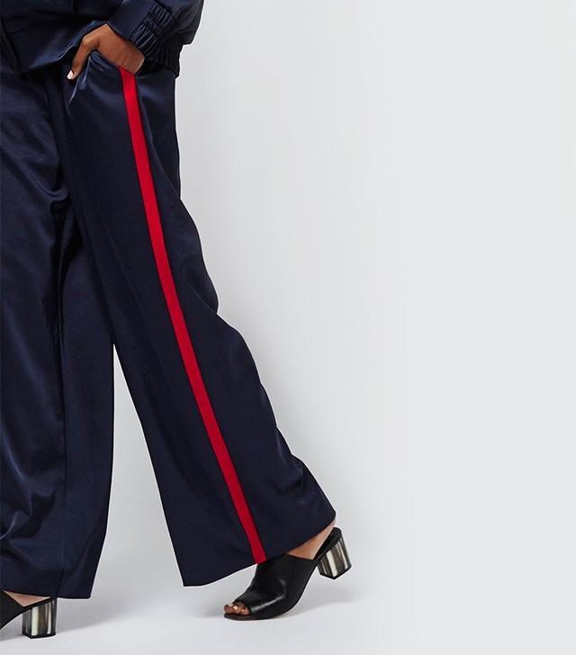 Topshop Boutique Stripe Track Pants