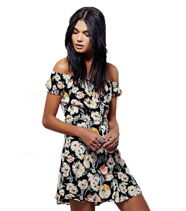 Free People Italian Breeze Mini Dress