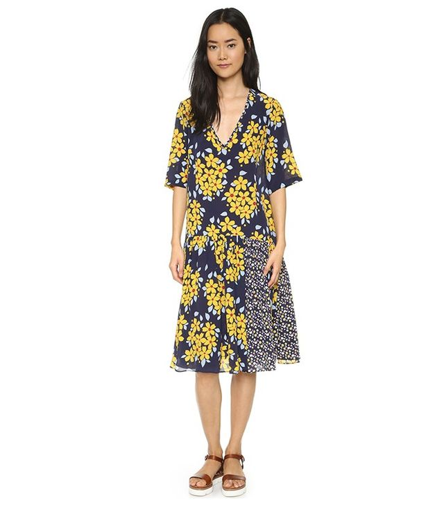 Suno V Neck Dress