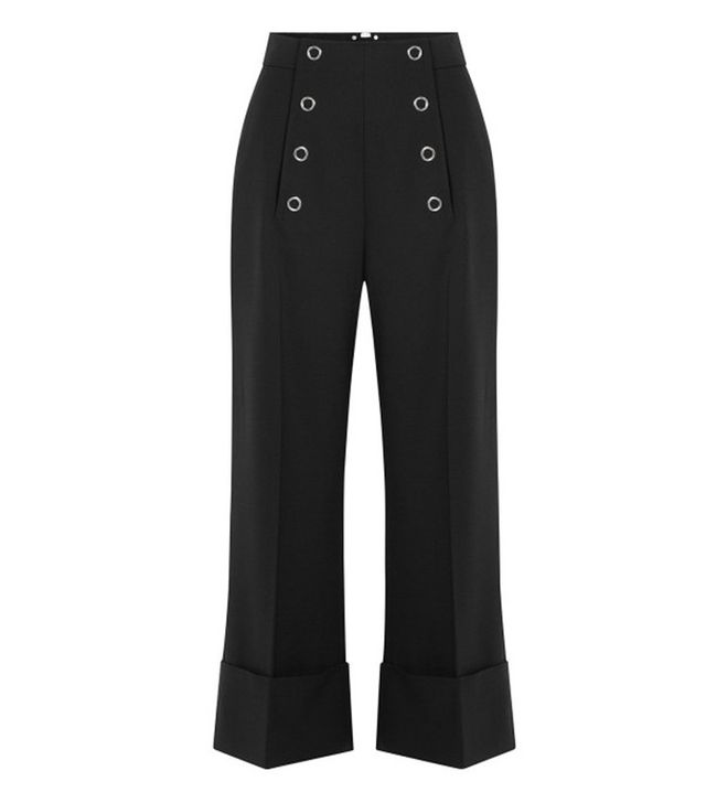 Alexander Wang Sailor Cropped Pants