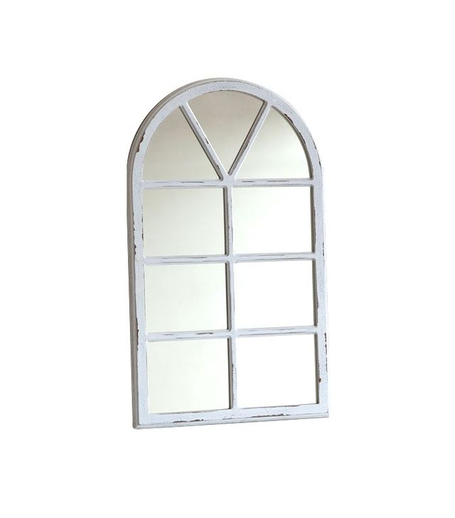 Zara Home Window-Shaped Wooden Mirror