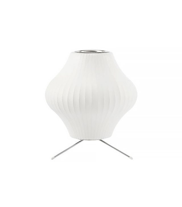 George Nelson Pear Lamp with Stand
