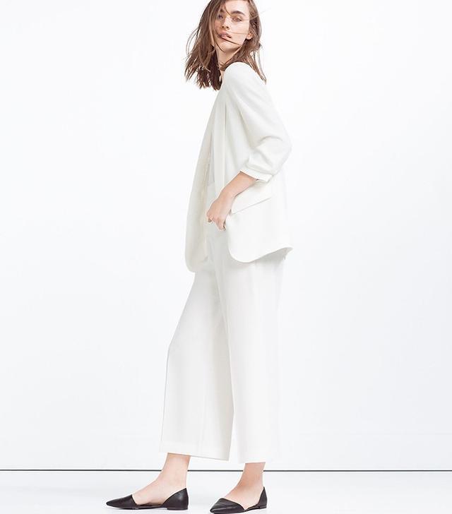 Zara High-Waisted Trousers