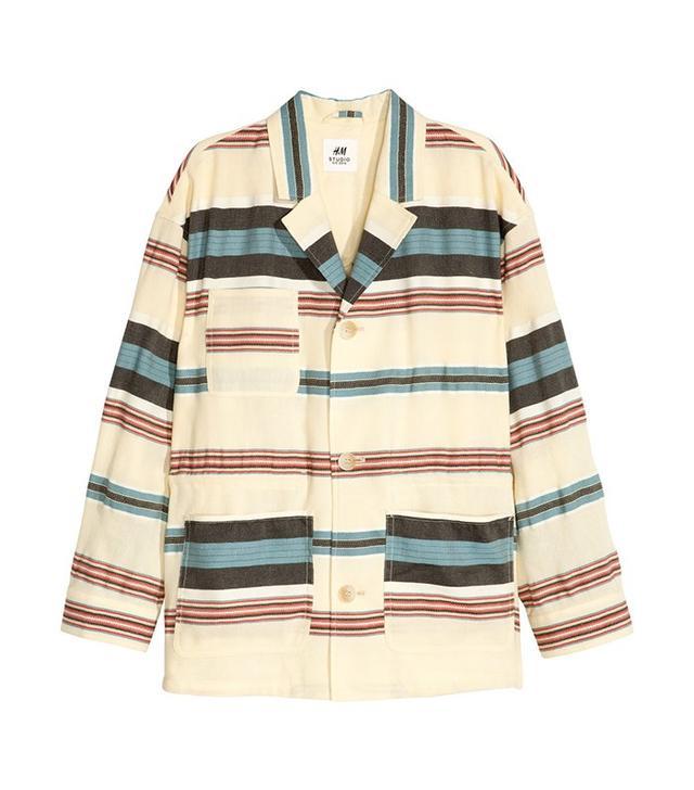 H&M Silk-Blend Jacket