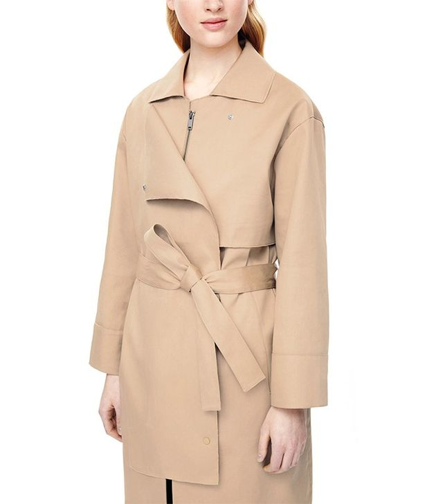 COS Deconstructed Trench Coat