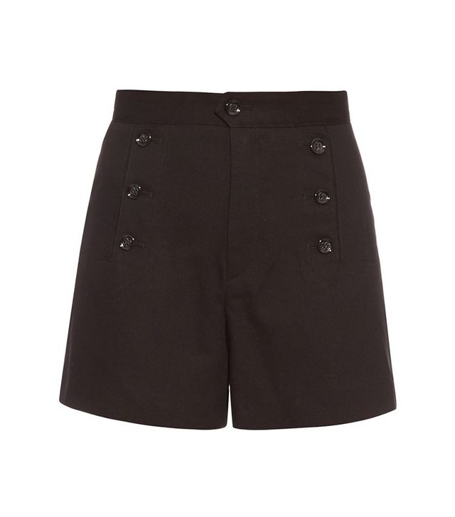 Isabel Marant Étoile Maud Cotton-Twill Shorts