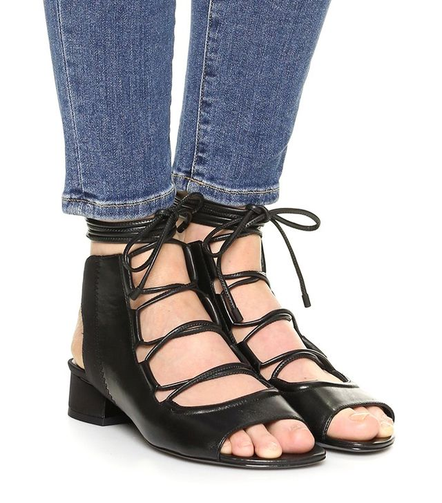 3.1 Phillip Lim Drum Lace Up Slingback Sandals