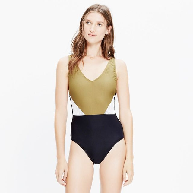Madewell's New Swimsuit Collab Is Here—and It's So Good