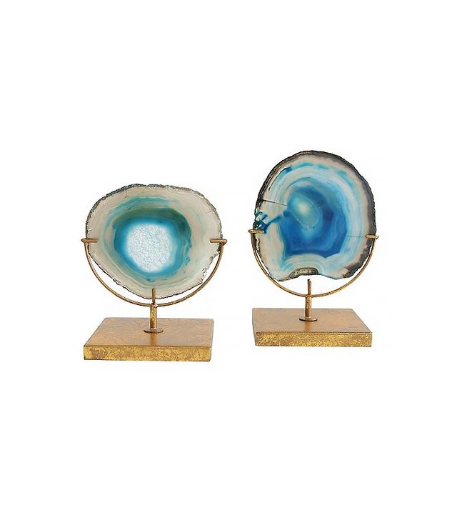 Target Agate on Stand