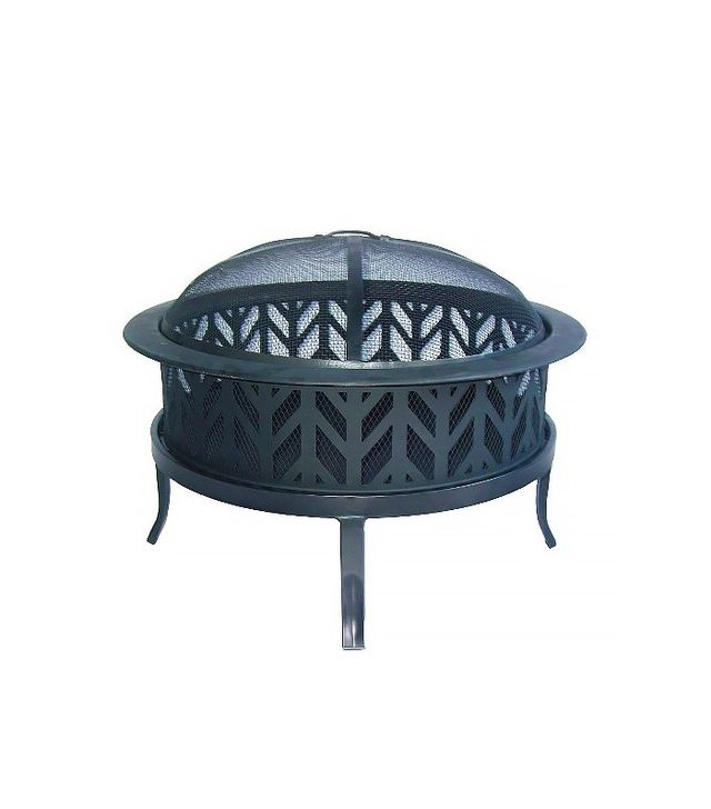 "Threshold 26"" Fire Pit With Arrow Cutouts"