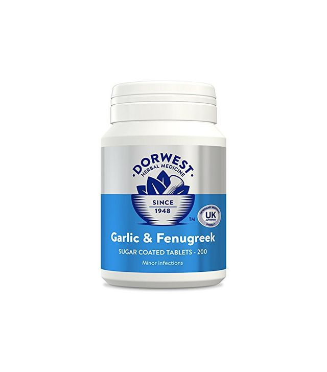 Dorwest Herbs Garlic and Fenugreek Tablets for Dogs and Cats