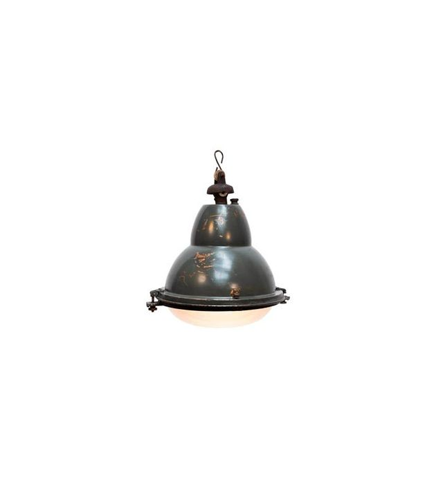Loudeac Rare French Factory Light