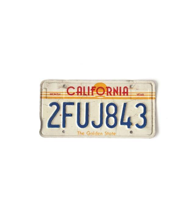 Gallivanting Girls Vintage California License Plate