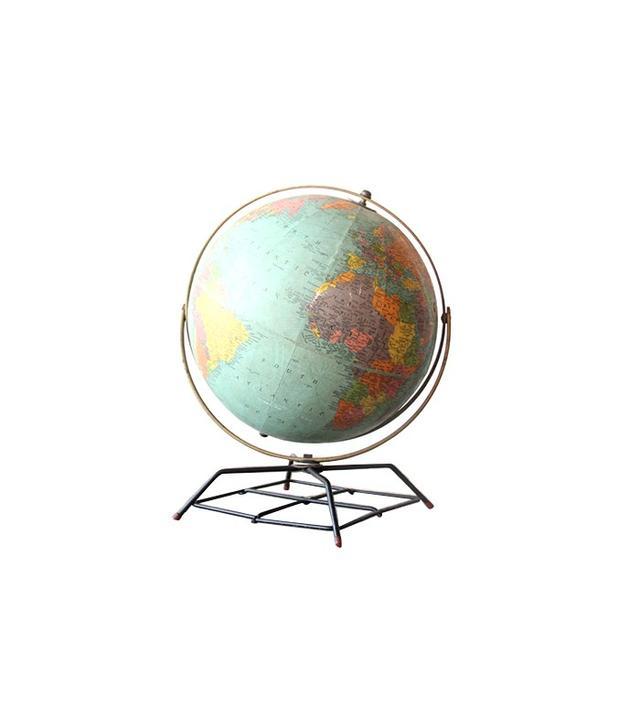 Gallivanting Girls Vintage Atomic Colorful Globe