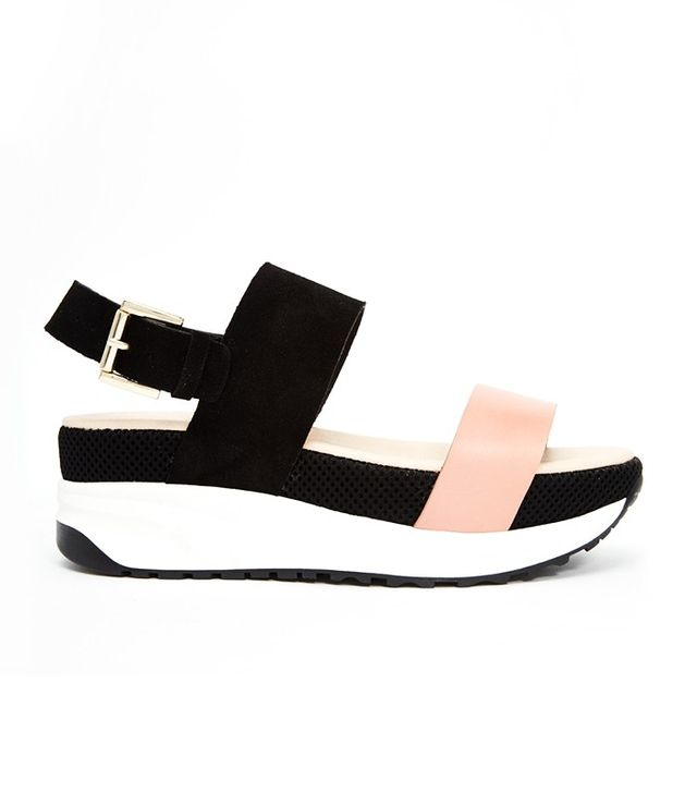 KG by Kurt Geiger Neutron Flatform Sandals