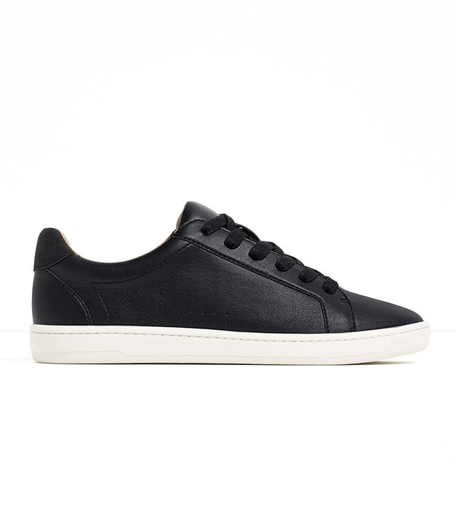 Zara Plimsolls With Laces