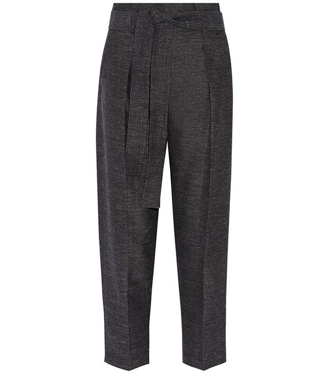 3.1 Phillip Lim Wool and Linen-Blend Tapered Pants