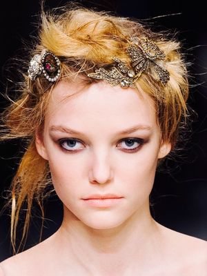 Something Was Different About the Makeup at Alexander McQueen