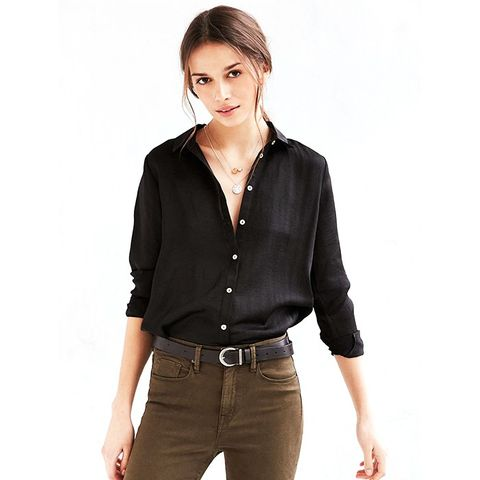 Modern Button-Down Blouse