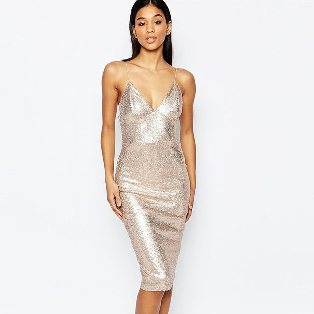 Club L Sequin Dress