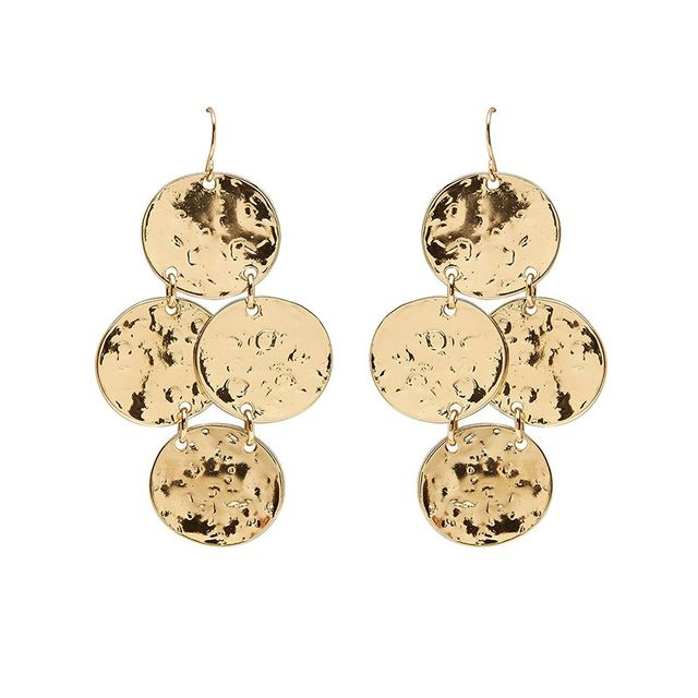 Sportsgirl Round Drop Earrings