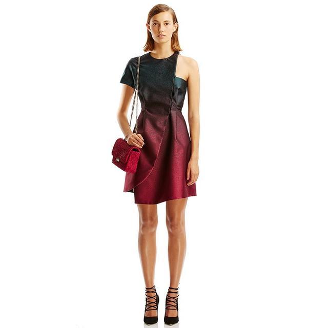 Scanlan Theodore Duchess Ombre Dress