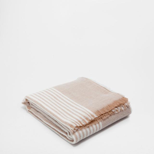Zara Home Linen Blanket
