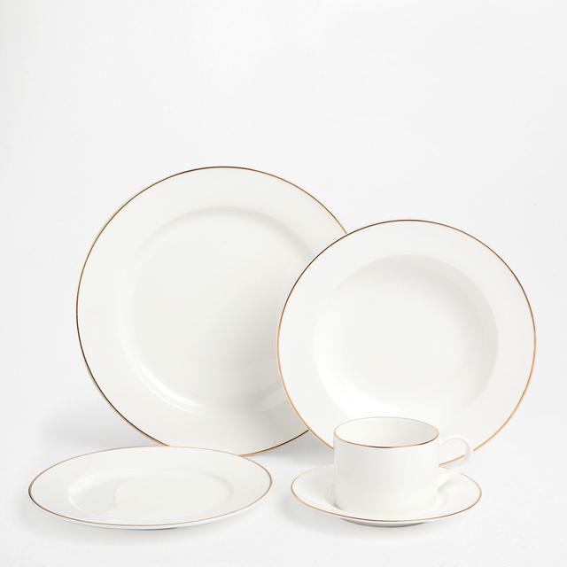 Zara Home Gold Rim Tableware