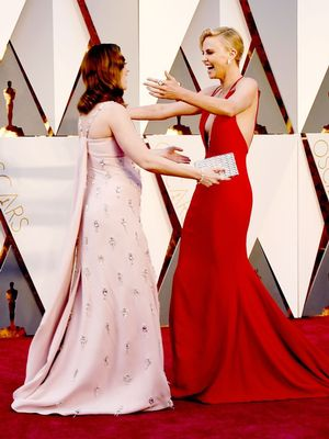 The Best Candid Oscars Shots You Didn't See