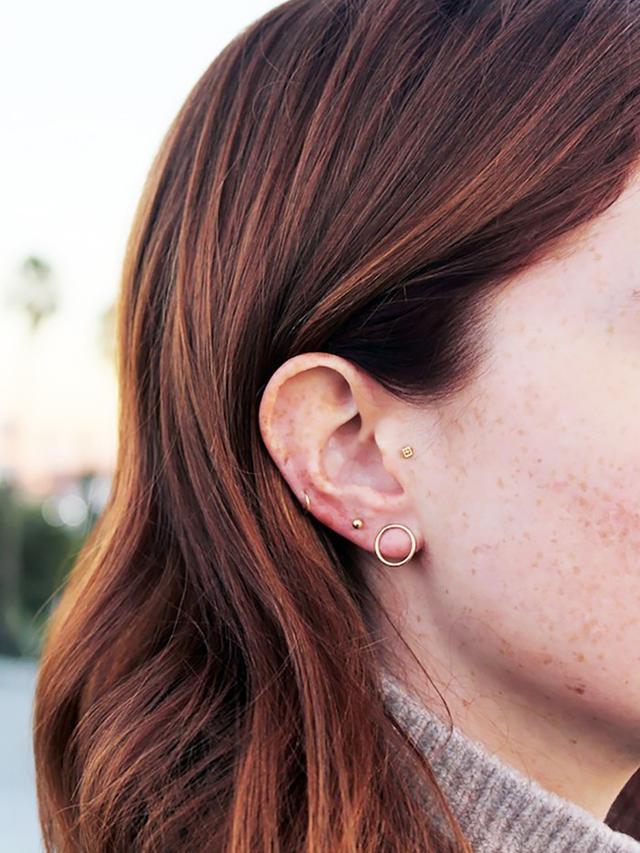 15 Cool Girl Ear Piercings We Discovered On Pinterest