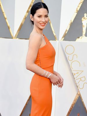 The Story Behind Olivia Munn's One-of-a-Kind Oscars Cuff