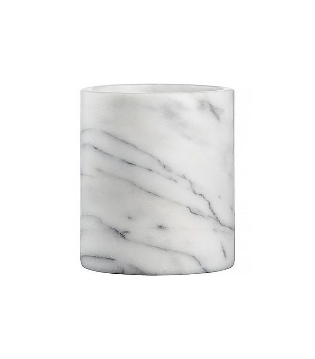 Crate & Barrel French Kitchen Marble Utensil Holder