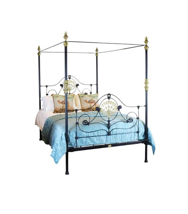 Seventh Heaven Cast Iron Four Poster Bed