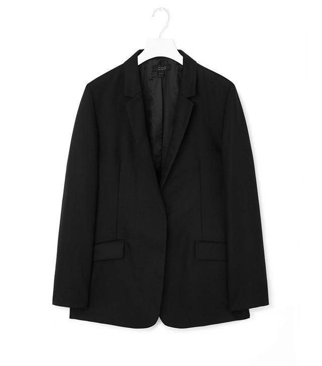 COS Unstructured Wool Blazer