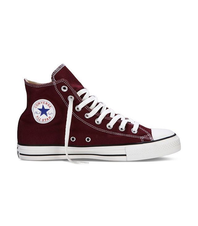 Converse Chuck Taylor All Star High-Tops in Burgundy