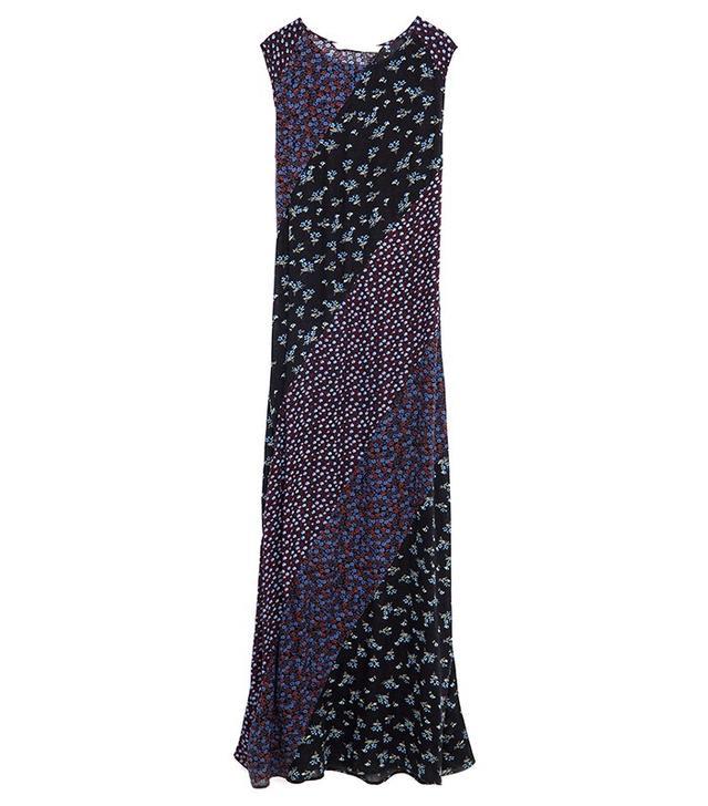 Zara Long Patchwork Dress