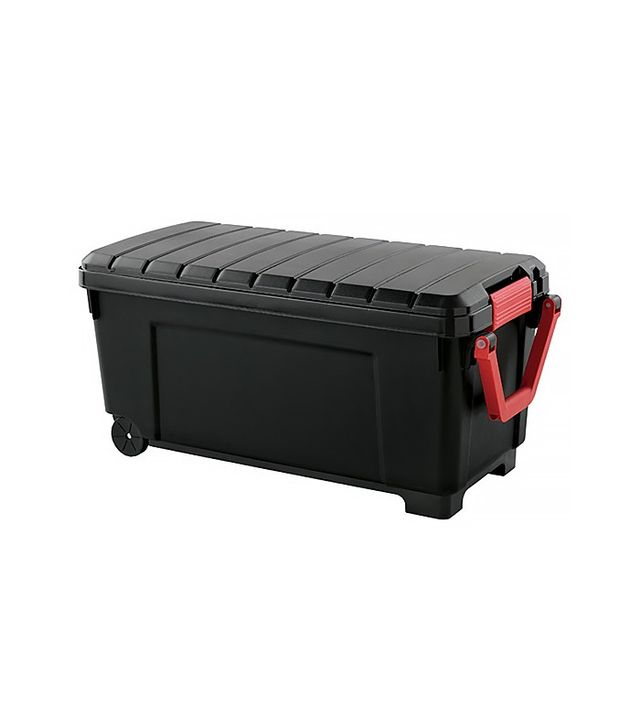 The Container Store Trunk with Wheels