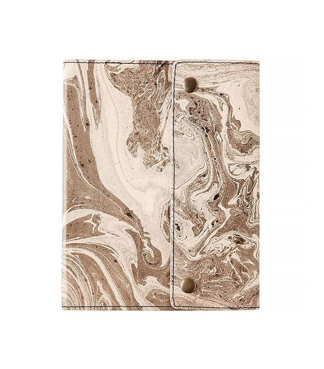 Urban Outfitters Oh Snap Marbled Journal