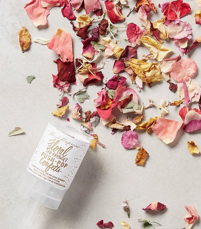 Anthropologie Petal Confetti Push-Pop