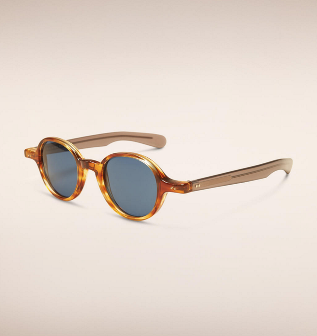 Burberry The Scholar Round Frame Sunglasses