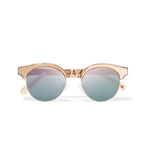 Luxe Cleopatra Cat-Eye Sunglasses